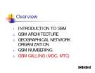 MẠNG GSM - PHẦN 5