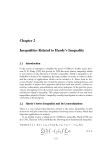 Mathematical Inequalities - Chapter 2