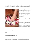9 cách phục hồi móng chân, tay hư tổn