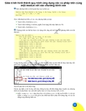 Giáo trình hình thành quy trình ứng dụng các cú pháp trên cùng một modun với các chương trình con p1