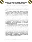 Giáo trình hình thành ứng dụng kỹ thuật vận hành tổng quan về role số truyền chuyển động p1