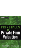 Principles of Private Firm Valuation phần 1