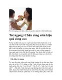 Trẻ ngọng: Chữa càng sớm hiệu quả càng cao