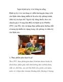 Ngừa bệnh tự kỷ ở trẻ bằng ăn uống