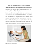 Thực đơn các bữa ăn cho trẻ từ 6 đến 11 tháng tuổi