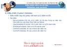 xử lý dữ liệu ADO_NET :Điều khiển kiểm tra dữ liệu Validation web controls