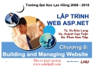building and managing website