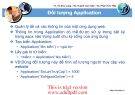 building and managing website : Đối tượng Application