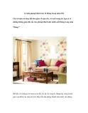 12 mẫu phòng khách cho 12 tháng trong năm (P2)