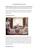 9 mẫu thiết kế phòng khách đẹp