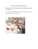 Màu sắc trẻ trung cho giường ngủ mùa xuân