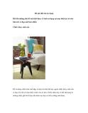 Đồ nội thất đa tác dụng Đôi khi những thứ đồ nội thất được cố tình