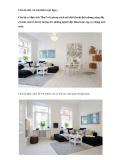 Căn hộ nhỏ với nội thất tuyệt đẹp e Căn hộ có diện tích 78m2 với phong