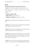 Giáo trình Microsoft Access 2000 phần 4