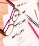 27 Mẫu đơn xin việc và sơ yếu lý lịch