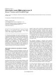 "Báo cáo y học: "" Chromatin meets RNA polymerase II"""