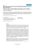 "Báo cáo y học: "" Gene-expression patterns reveal underlying biological processes in Kawasaki diseas"""