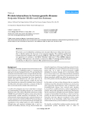 "Báo cáo y học: ""Protein interactions in human genetic diseases"""