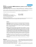 """Báo cáo y học: """" Analysis of repetitive DNA distribution patterns in the Tribolium castaneum genome"""""""