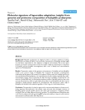 """Báo cáo y học: """"Molecular signature of hypersaline adaptation: insights from genome and proteome composition of halophilic prokaryote"""""""