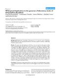 "Báo cáo y học: ""Widespread duplications in the genomes of laboratory stocks of Dictyostelium discoideu"""
