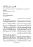 """Báo cáo y học: """" Caenorhabditis elegans comes of age"""""""