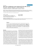 """Báo cáo y học: """"Anni 2.0: a multipurpose text-mining tool for the life sciences"""""""