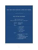Báo cáo xử lý Intel Core 2 Dual