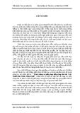 """Đề tài """" Thực trạng và giải pháp tiếp công dân tại  Cục Thuế tỉnh Thừa Thiên Huế"""""""