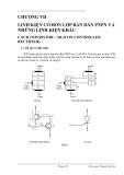Giáo trình hình thành phân đoạn ứng dụng cấu tạo Mosfet với tín hiệu xoay chiều p4