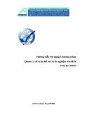 Hướng dẫn Sử dụng Chương trình Quản Lý &Trộn Đề thi Trắc nghiệm