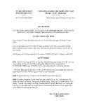 Quyết định số 42/2011/QĐ-UBND
