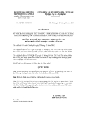 Quyết định số 92/QĐ-BCĐCNC
