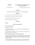 Nghị định số 97/2011/NĐ-CP