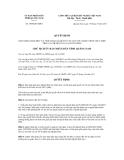 Quyết định số 3369/QĐ-UBND