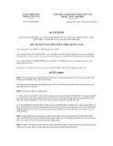 Quyết định số 3371/QĐ-UBND