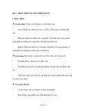 Bài 1: KHÁI NIỆM VỀ MẶT TRÒN XOAY