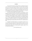 Đề tài: Lãi suất và vai trò của nợ trong việc huy động vốn