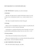 Tiết 79: ĐẠO HÀM CỦA CÁC HÀM SỐ LƯỢNG GIÁC