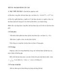 TIẾT 83 - 84: ĐẠO HÀM CẤP CAO