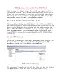 ISP Redundancy Mode của Forefront TMG Beta 3