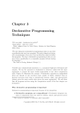 Concepts, Techniques, and Models of Computer Programming - Chapter 3