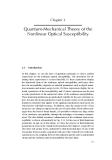 Nonlinear Optics - Chapter 3