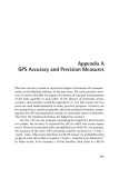 Introduction to GPS The Global Positioning System - Appendix