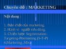 Giáo trình Marketing căn bản cho người mới học