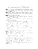CHỦ ĐỀ 2: KIM LOẠI VÀ DUNG DỊCH KIỀM