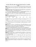 CHỦ ĐỀ: TÌM CÔNG THỨC HÓA HỌC MỘT CHẤT DỰA VÀO BIỆN LUẬN