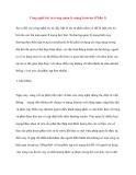 Công nghệ tác tử trong quản lý mạng Internet (Phần 1)
