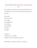 Quản lý mạng Windows bằng Script - Phần 12: Các thuộc tính của lớp WMI
