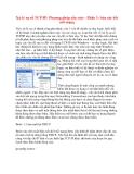 Xử lý sự cố TCP/IP: Phương pháp cấu trúc - Phần 3: Sửa các kết nối mạng